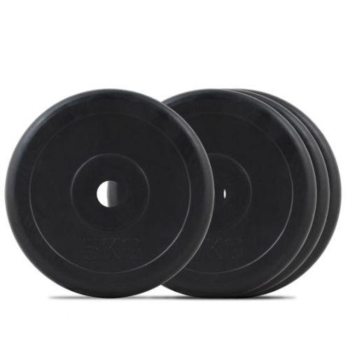 Дискове олимпийски – черни гумирани ф50